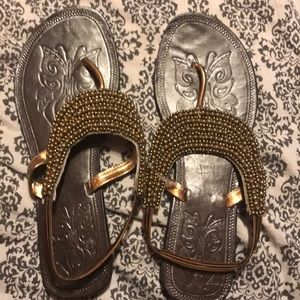 Sandals I purchased in India